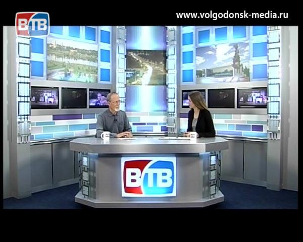 О Цимлянском водохранилище поговорим с гостем студии Николаем Жилкиным