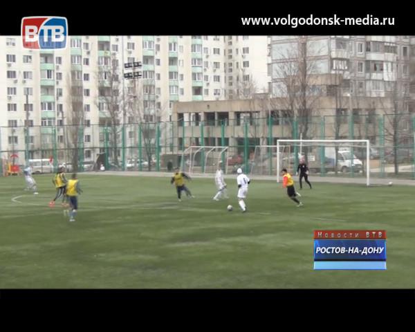 ФК «Волгодонск» одержал победу в товарищеском матче