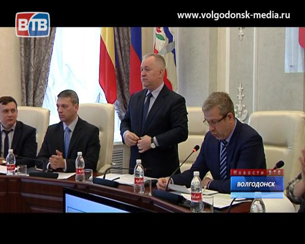 Сергей Поляков стал первым заместителем главы Администрации г.Волгодонска