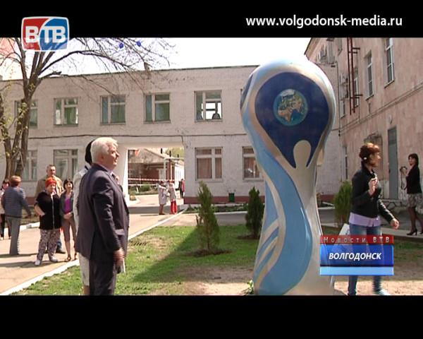 В честь празднования Дня космонавтики в Больнице №1 открыли новый памятник