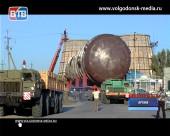 В Волгодонске частично ограничат движение из-за перевозки крупногабаритного груза