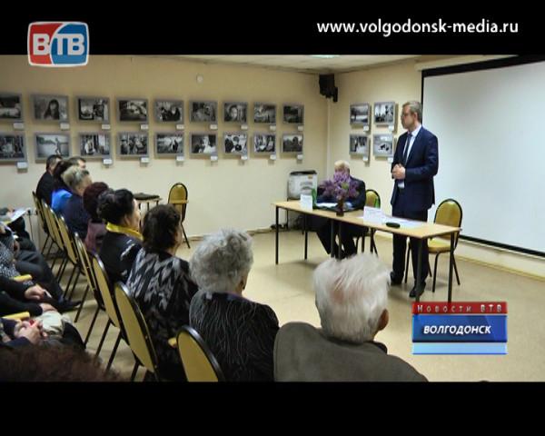 Андрей Иванов встретился с ветеранами