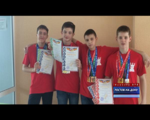 Волгодонские пловцы отличились на областном уровне