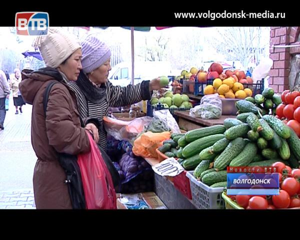 Рынок «Машенька» посетил первый заместитель главы Администрации Волгодонска Сергей Поляков