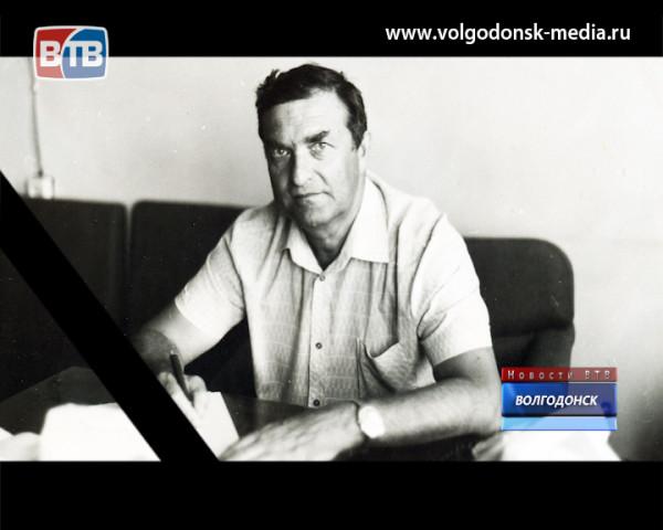 Ушел из жизни легенда волгодонской журналистики — Альберт Зорнин