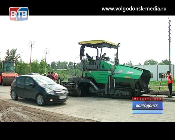 Дороги в Волгодонске отремонтировали раньше установленного срока