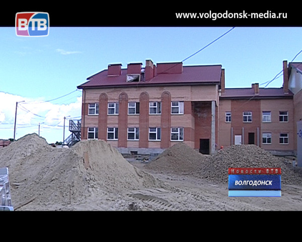 К концу этого года в Волгодонске появится детский сад на 280 мест