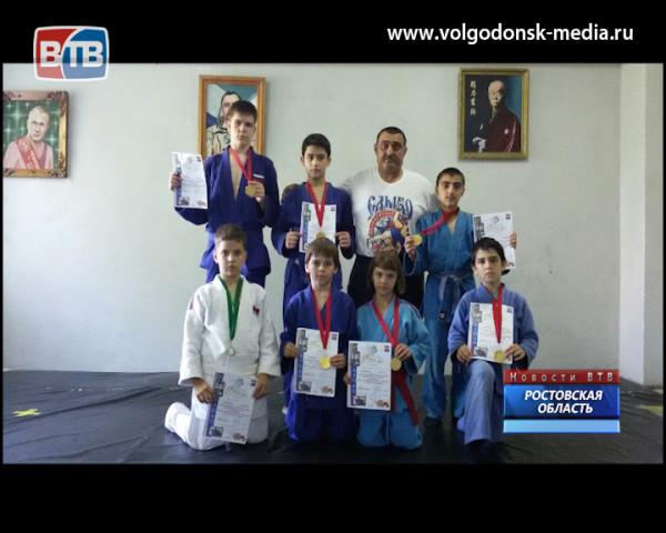 Волгодонские дзюдоисты вновь стали золотыми призерами