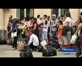 Первая группа волгодонских ребят отправилась на отдых в Анапу
