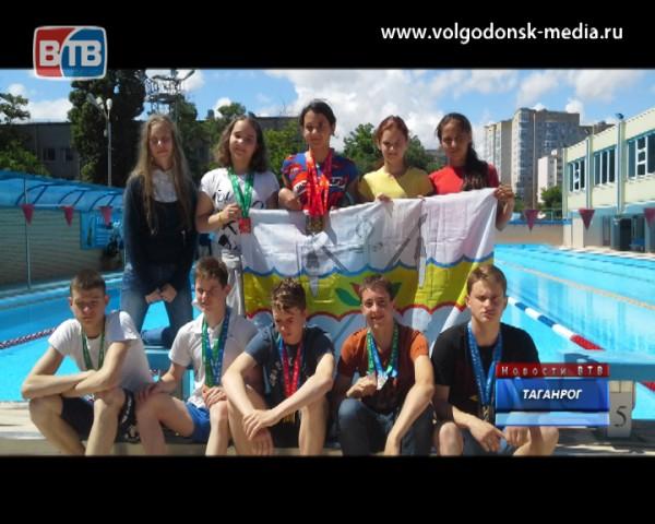 Волгодонские пловцы отличились на XIV Олимпиаде Дона