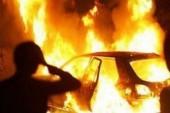 Сегодня ночью на городской штрафстоянке сгорели несколько автомобилей