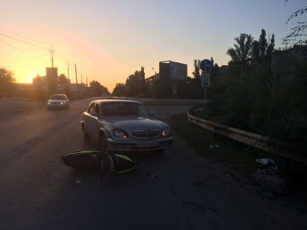 В ДТП с участием скутера пострадала несовершеннолетняя девочка