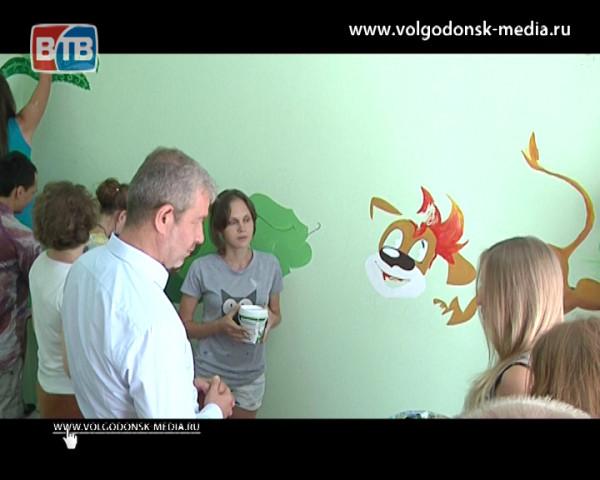 Инициатива от сердца. Глава Администрации Андрей Иванов оценил творческую работу волонтеров