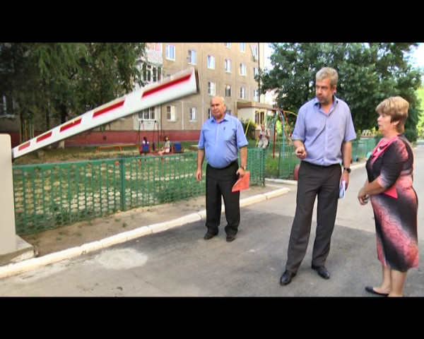 В Волгодонске появилась первая парковка, созданная на условиях софинансирования жильцов МКД и города