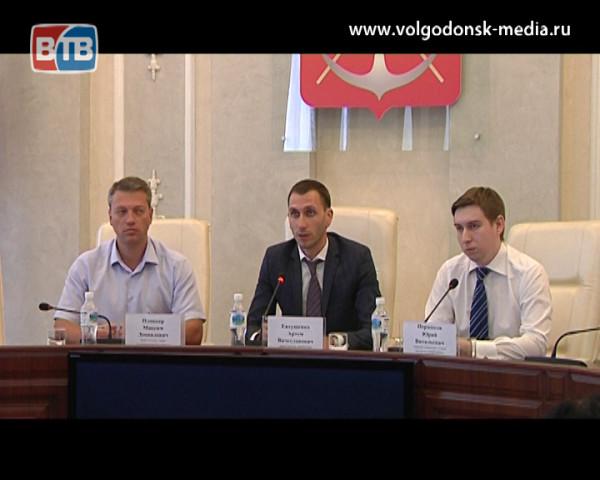 Волгодонск с рабочим визитом посетил заместитель директора департамента потребительского рынка Ростовской области
