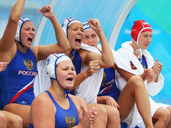 Женская  сборная России по водному поло реабилитировалась после стартового поражения