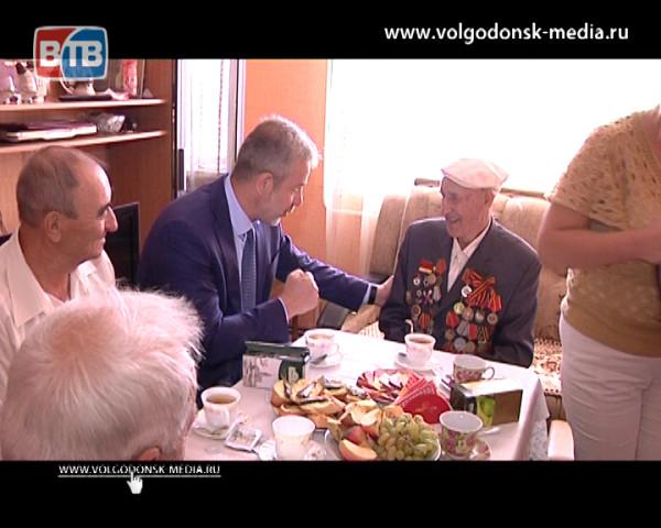 Свой 90-летний юбилей отметил ветеран Тимофей Егорович Колесников
