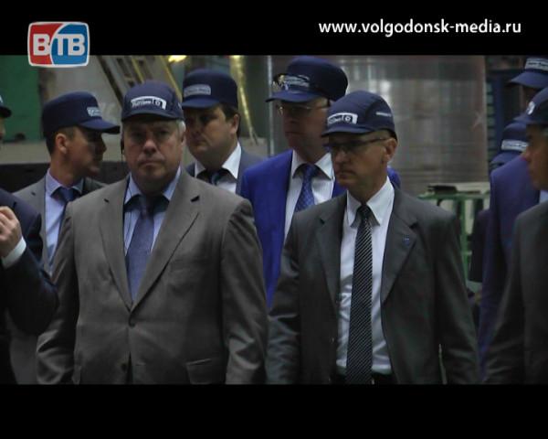 Волгодонск посетили с рабочей поездкой Сергей Кириенко и Василий Голубев