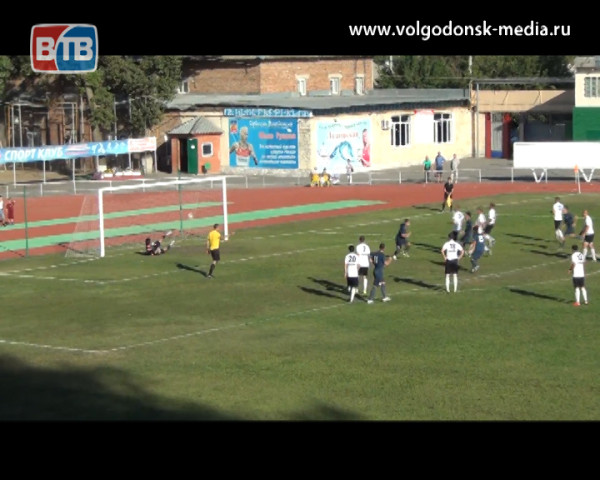 ФК «Волгодонск» сделал еще один шаг на пути к медалям первенства