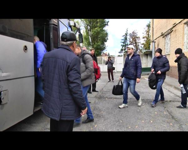 Первая группа волгодонских призывников отправлена для прохождения срочной службы в рамках осенней призывной кампании