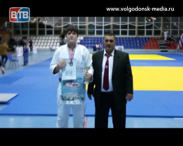Волгодонский дзюдоист стал призером всероссийского турнира
