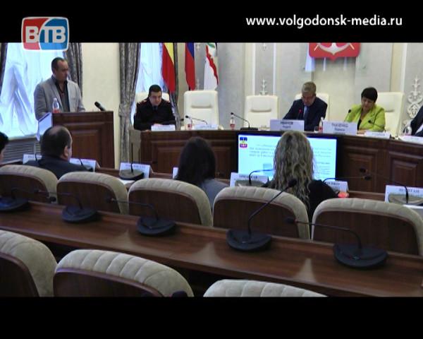 Заседание антикоррупционной комиссии посвятили вопросам волгодонских дорог