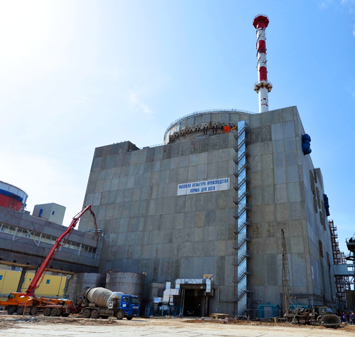 На энергоблоке №4 РоАЭС установлен герметичный люк транспортного коридора