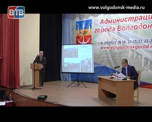 В преддверии годового отчета главы Администрации состоялась информационная встреча, посвященная вопросам благоустройства и ЖКХ