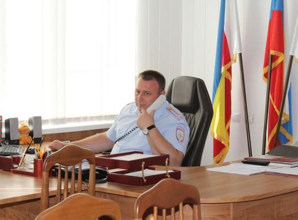 Начальник МУ МВД России «Волгодонское» Юрий Мариненко проведет в среду телефонную линию
