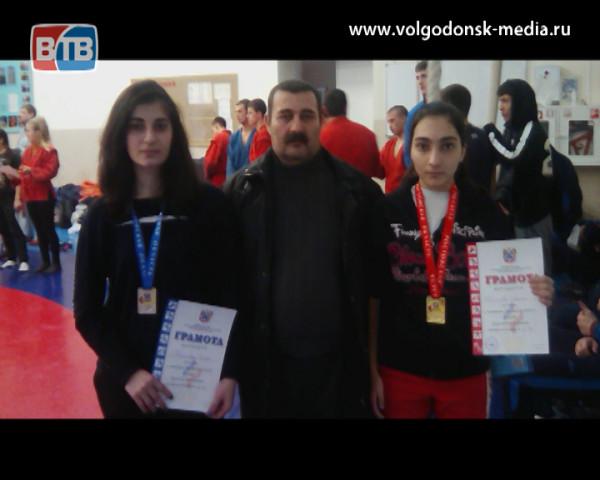 Волгодонские самбисты отличились на Чемпионате Ростовской области