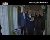 Ветеранов третьего микрорайона поздравили с Новым годом и Рождеством