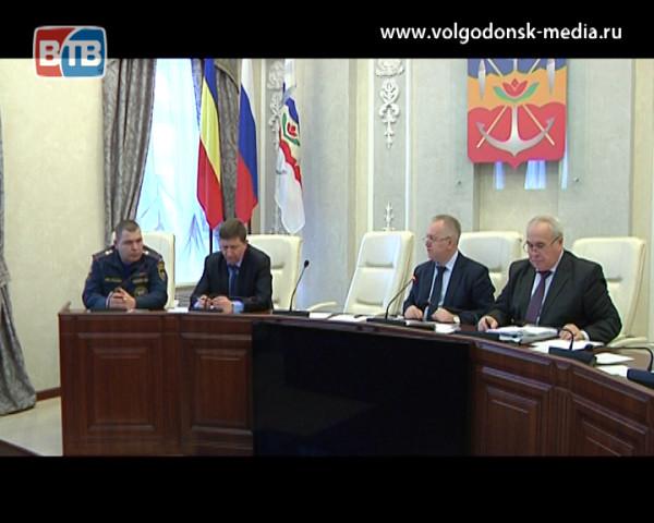 Состояние пожарных систем Волгодонска обсудили в Администрации