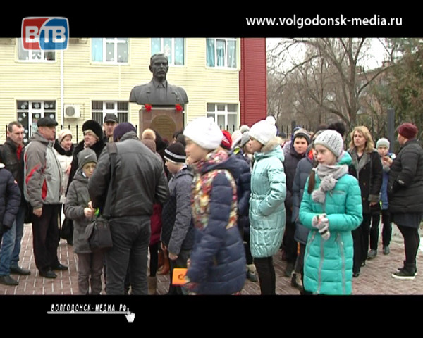Волгодонск почтил память Героя России Михаила Ревенко