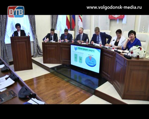 В 2016 году в Волгодонске родилось на 82 ребенка меньше