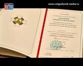 Известный меценат Евгений Кудрявцев стал кавалером ордена святого благоверного князя Даниила Московского