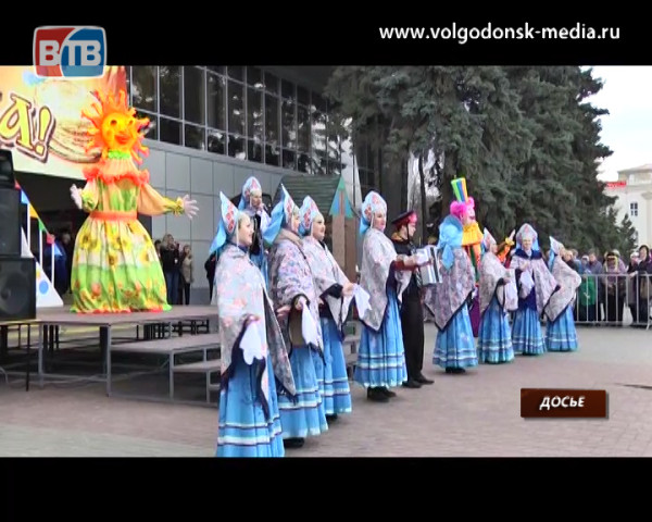 В час дня 26 февраля на площади Победы заполыхает чучело Масленицы