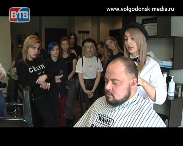 Салон для мужчин Барбершоп «Бородач» провел мастер-класс для студентов ВТИТБиД