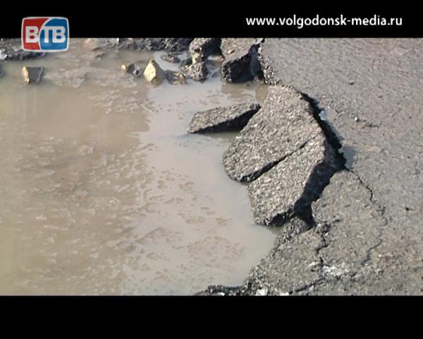 Ямочный ремонт дорог в Волгодонске начнут уже 9 марта