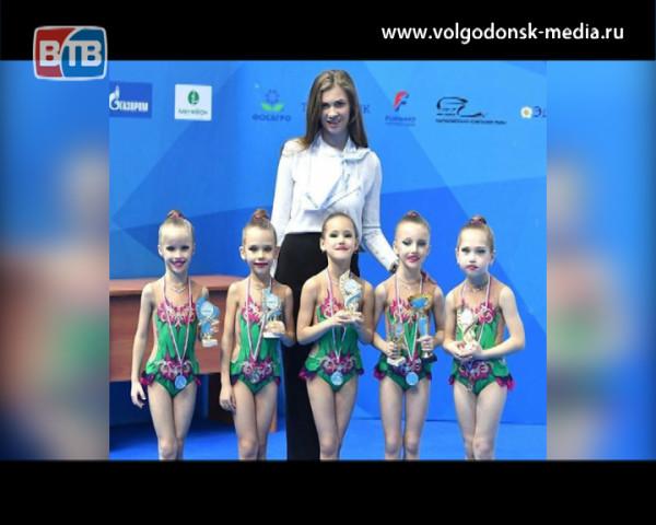 Волгодонские гимнастки стали вторыми на Всероссийских соревнованиях