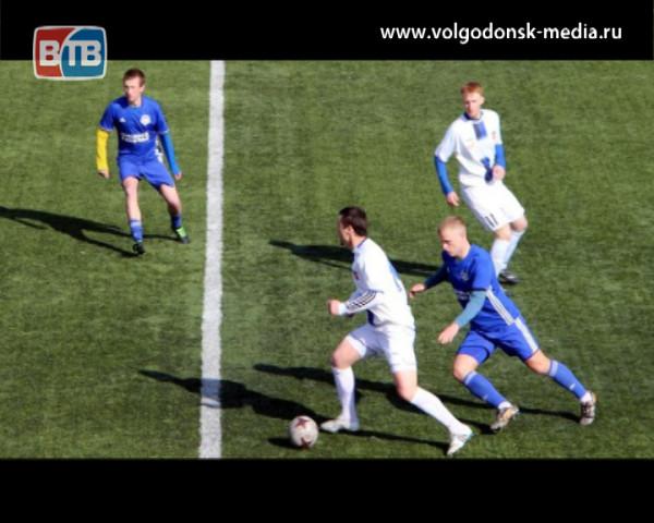 Футбольный клуб «Волгодонск» победой продолжил подготовку к сезону