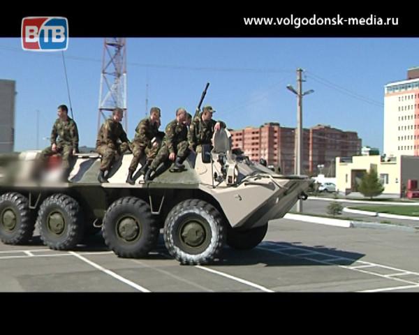 В Восковой части 3504 отметили всероссийский день призывника