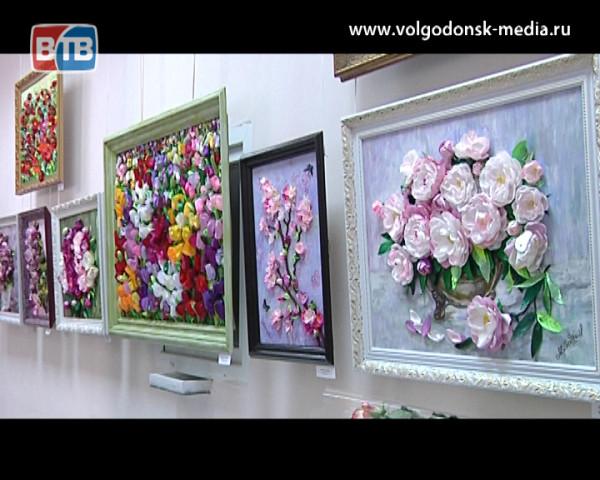 В художественном музее открылась выставка волгодонских рукодельниц