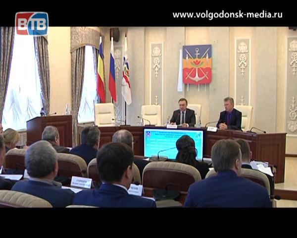 В Волгодонске прошло совещание под председательством первого заместителя Губернатора посвященное спасению Цимлянского водохранилища