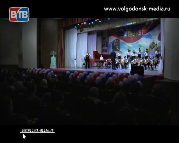 Музыкальная школа имени С.В. Рахманинова отметила 40-летний юбилей!