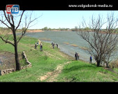 На берегу Сухо-Соленовской балки прошла экоакция «Чистый берег»