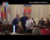 В Международный день семьи супружеской паре из Волгодонска вручили знак губернатора Ростовской области «Во благо семьи и общества»