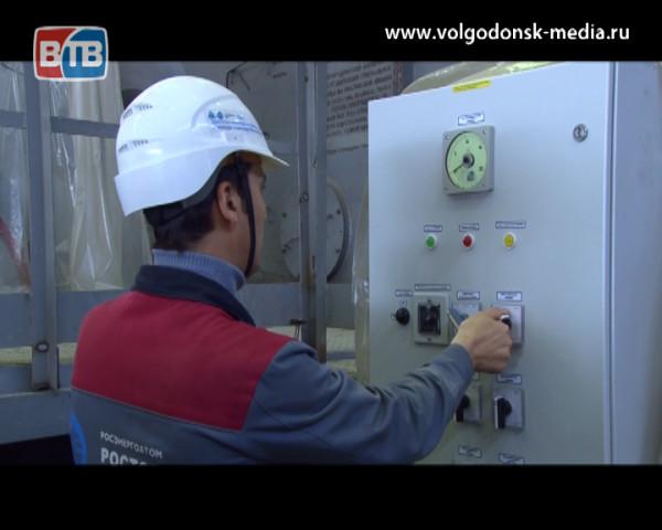 Турбину энергоблока №4 Ростовской АЭС поставили на валоповорот