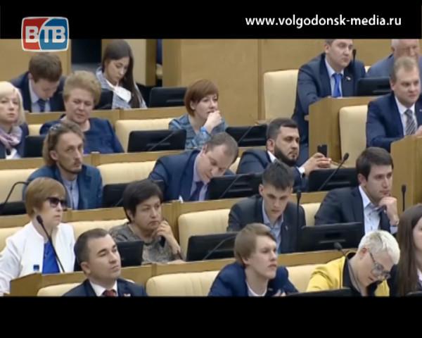 Известный волгодонский режиссер Владимир Реннер стал участником заседания Госдумы