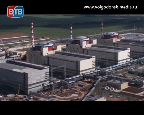 Новости Росатома. Началась загрузка имитаторов ТВС в реактор четвертого энергоблока Ростовской АЭС