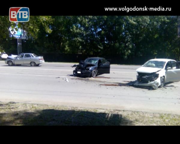 Авария на улице Морской. Есть пострадавшие
